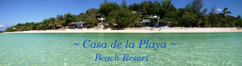 Welcome to 'Casa de la Playa Beach Resort' -  Sandugan - Siquijor - Philipines
